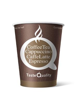 Стакан бумажный одноразовый Taste Quality 250 мл