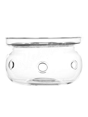 Подставка-подогреватель для чайника Очаг из жаропрочного стекла (М-008А)