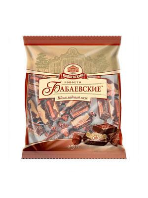 Конфеты Бабаевские Шоколадный вкус фас. 250 гр