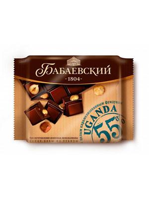 Шоколад Бабаевский Уганда с карамелизированным фундуком 90 гр
