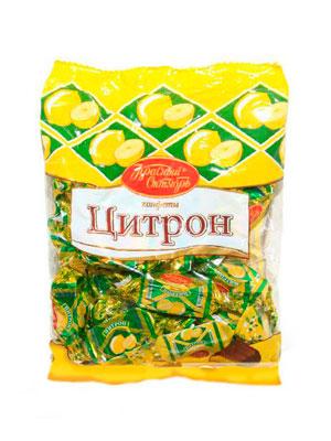 Конфеты Красный Октябрь Цитрон фас. 250 гр