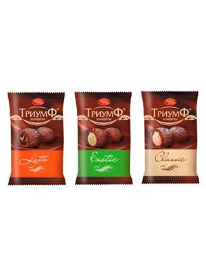 Набор конфет Красный Октябрь Триумф микс фас. 250 гр
