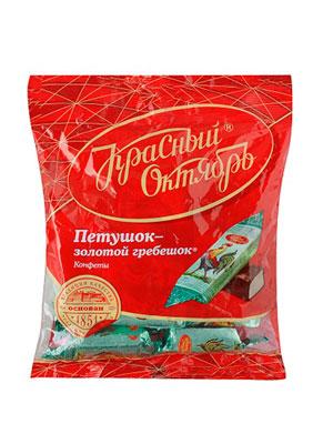 Конфеты Красный Октябрь Петушок-Золотой гребешок фас. 250 гр