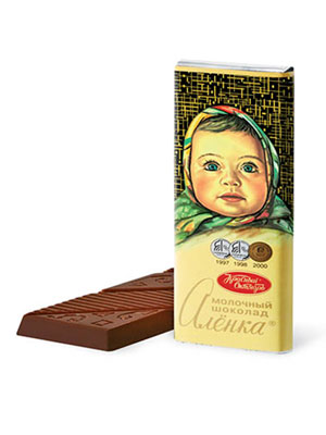 Шоколад Красный Октябрь Аленка 60 гр.