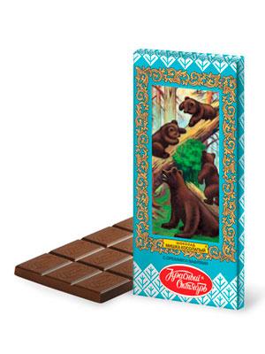 Шоколад Красный Октябрь Мишка косолапый 75 гр