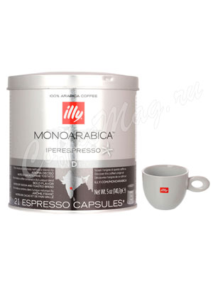 Кофе Illy в капсулах Monoarabica Iperespresso home India