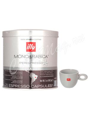 Кофе Illy в капсулах Monoarabica Iperespresso home Brazil