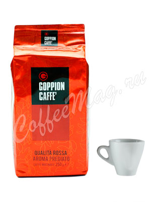 Кофе Goppion Caffe молотый Qualita Rossa Aroma Pregiato 250 гр в.у.
