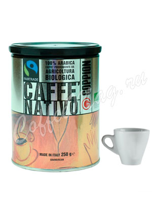 Кофе Goppion Caffe в зернах Nativo Organic 250 гр ж.б.