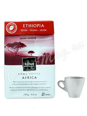 Кофе Kowa Ethiopia в зёрнах 250 гр.
