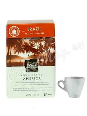 Кофе Kowa Brasil молотый 250 гр.