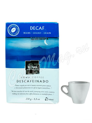Кофе Kowa Descafeinado в зёрнах 250 гр.