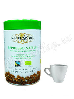 Кофе Miscela d`Oro в зернах Espresso Natura 250 гр