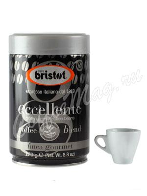 Кофе Bristot в зернах Eccellente 250 гр ж.б.