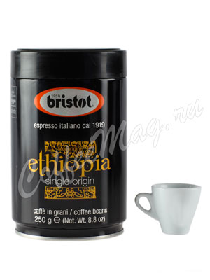 Кофе Bristot в зернах Ethiopia 250 гр ж.б.