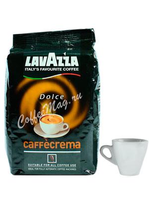 Кофе Lavazza в зернах Dolce Caffe Crema 1 кг в.у.