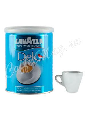 Кофе Lavazza молотый DeK 250 гр ж.б.