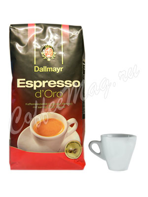 Кофе Dallmayr в зернах Espresso d`Oro 200 гр