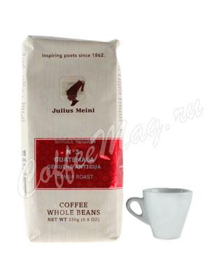 Кофе Julius Meinl в зернах Guatemala Genuine Antigua №3 (Гватемала) 250 гр