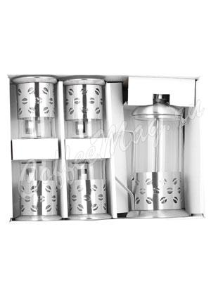 Подарочный набор Kelly KL-3022 Френч-пресс и 4 чашки