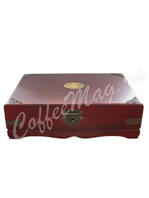Basilur Шкатулка Большая с чаем 240 пакетиков подарочный набор деревянная шкатулка