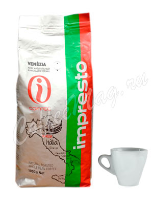 Кофе Impresto в зернах Venezia 1 кг