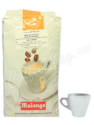 Кофе Malongo в зернах Бразилия Сул де Минас 1кг