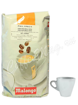 Кофе Malongo в зернах Costa Rica 1кг