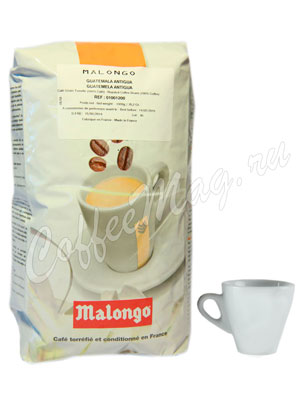 Кофе Malongo в зернах Guatemala Antigua 1 кг