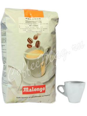 Кофе Malongo в зернах Nicaragua Maragogype 1кг
