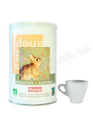 Кофе Malongo молотый Bio Мягкий 250 гр (ж.б.)