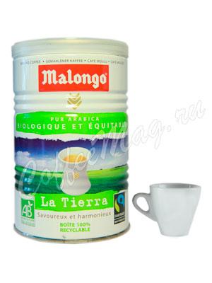 Кофе Malongo молотый Bio 250 гр (ж.б.)
