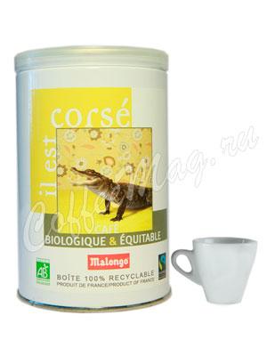 Кофе Malongo молотый Bio Пикантный 250 гр (ж.б.)