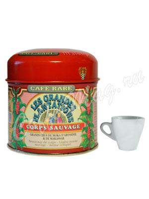 Кофе Malongo молотый Мокка и Макассар 125 гр
