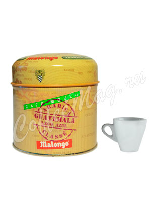 Кофе Malongo молотый Гватемала Лого Азул