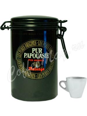 Кофе Malongo молотый Pur Papoua 250 гр (ж.б.)