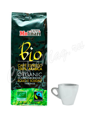 Кофе Molinari молотый Bio Organic 250 г
