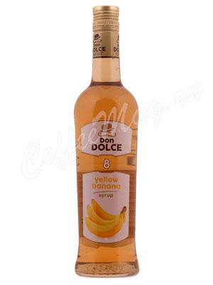 Сироп Don Dolce Желтый банан 0.7 л