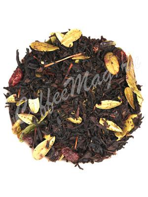Черный чай с брусникой от Gutenberg