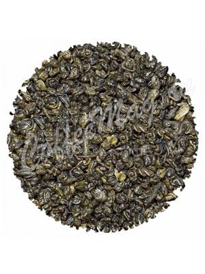 Зеленый чай Ганпаудер Молочный