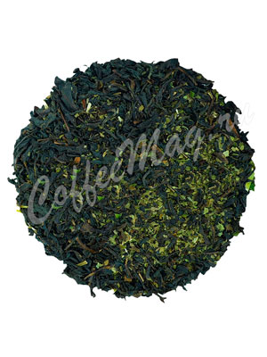 Черный чай с мелиссой и мятой