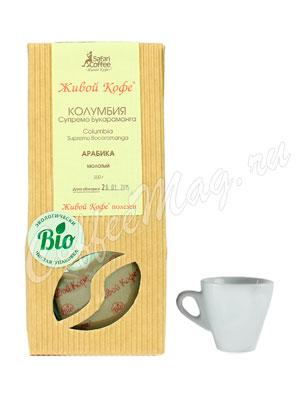 Живой кофе молотый Колумбия Супремо Букараманга 200 гр