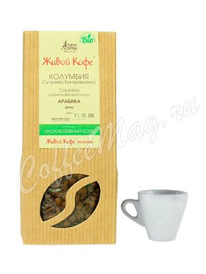 Живой кофе в зернах Колумбия Супремо Букараманга 200 гр