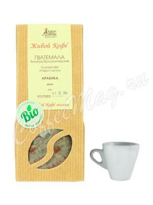 Живой кофе в зернах Гватемала Антигуа Вулканический 200 гр