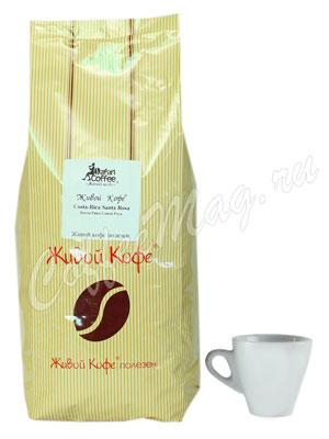 Живой кофе в зернах Коста Рика Санта Роса 1 кг