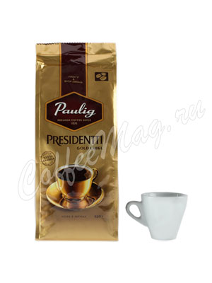 Кофе Paulig Presidentti Gold Label в зёрнах 250 г