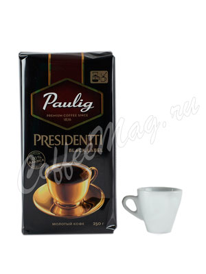 Кофе Paulig Presidentti Black Label молотый 250 г