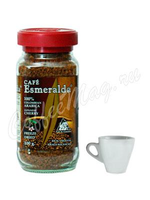 Кофе Cafe Esmeralda растворимый ЯПОНСКАЯ ВИШНЯ 100гр