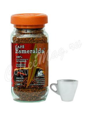Кофе Cafe Esmeralda растворимый ИНДИЙСКАЯ КОРИЦА 100 г