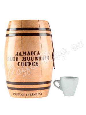 Кофе Jamaica Blue Mountain (Ямайка Блю Маунтин) в зернах бочонок 1 кг